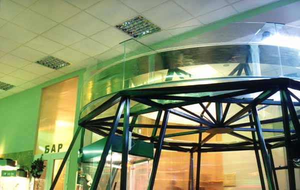 Эксклюзивный аквариум – Аквариум-кольцо