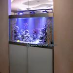 аквариум встроенный в стену