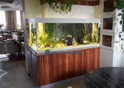 л-образный аквариум