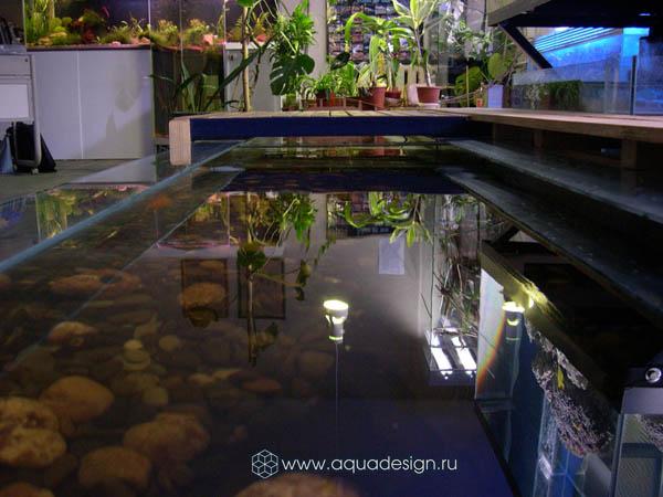 Искусственные и декоративные маленькие прудики купить в Москве