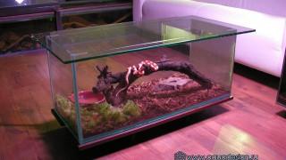Купить стол аквариум